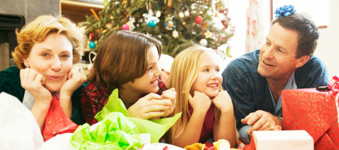 eliminate stress spend time with family Christmas
