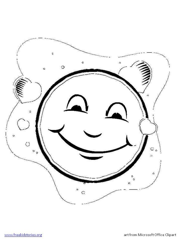 moon festival coloring pages - photo#32