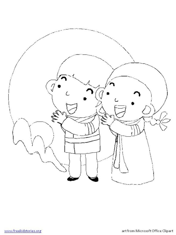 Freekidstories for Mid autumn moon festival coloring pages